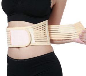 Турмалиновый пояс на спине