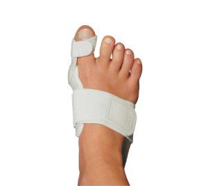 Шина Валюфикс на пальце ноги