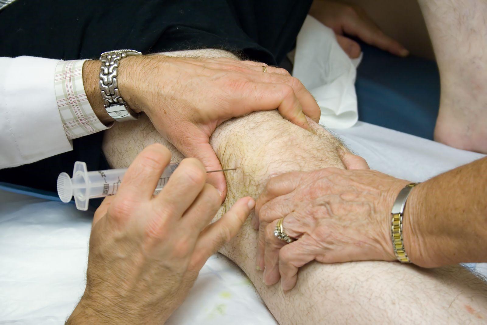 Показания к пункции коленного сустава при травмах желатин для суставов отзывы