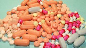 Горсть таблеток и пилюль
