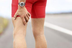 Задняя поверхность ног мужчины